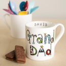 Personalised Granddad Mug