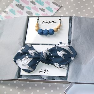 Hummingbird Mum And Baby Teething Gift Set
