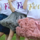 5th Birthday Tutu And Top Outfit