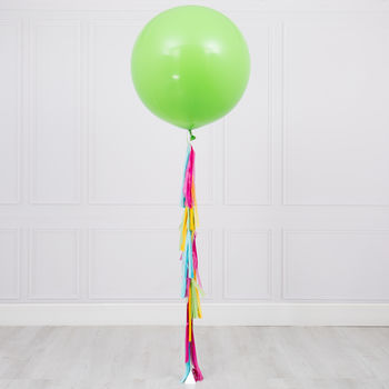 Tropical Tassel Tail Giant Balloon