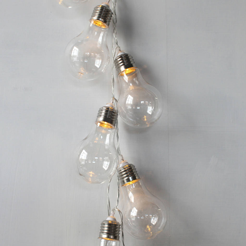 Bulb Fairy Lights, Lightbulb Shape