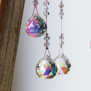 Crystal Sun Catcher Drop