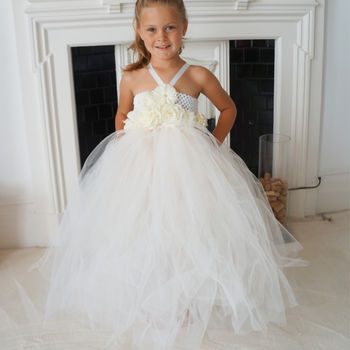 Arabella ~ Flower Girl Dress ~Llc