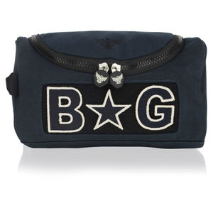 Personalised Heritage Wash Bag