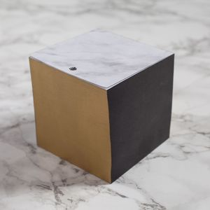 Marble Note Block - writing