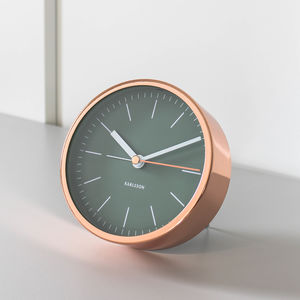 Copper Alarm Clock - off to university