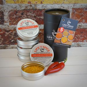 The Famous Five Street Food Rub Collection - personalised