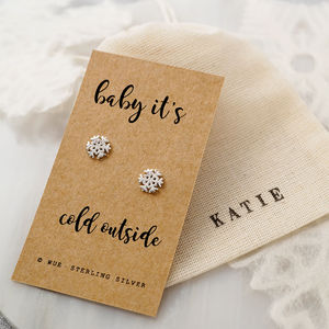 Baby Its Cold Outside Earrings - what's new