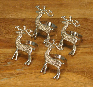Reindeer Napkin Rings - kitchen