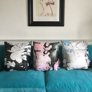 'Oil Abstract Cushions