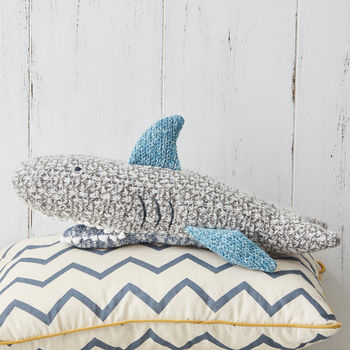Shark Knit Toy