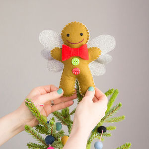 Gingerbread Man Tree Topper - tree toppers