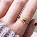 Unicorn Sterling Silver Emoji Ring