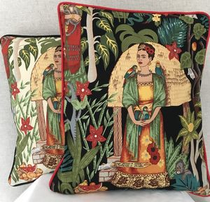 Limited Edition Frida Kahlo Cushion - cushions