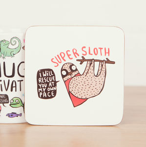 'Super Sloth' Coaster