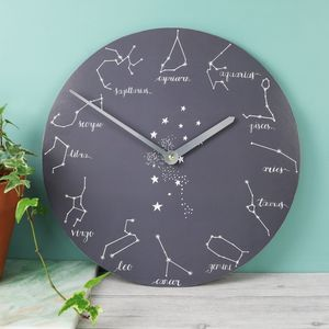 Zodiac Wall Clock - clocks
