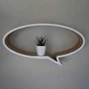 Round Speech Bubble Shelf