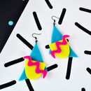 80s Vibes Statement Earrings
