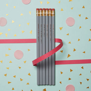 Nerdy Cool Units Of Measure Conversion Maths Pencil Set