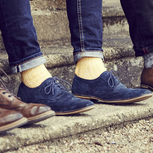 Cotton Fleck Sock - men's fashion