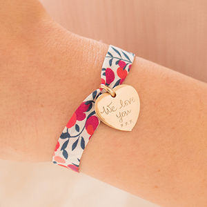 Personalised Liberty Charm Bracelet - children's jewellery