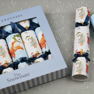 Official The Snowman Luxury Christmas Cracker