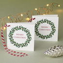 Gift Tags Christmas Wreath