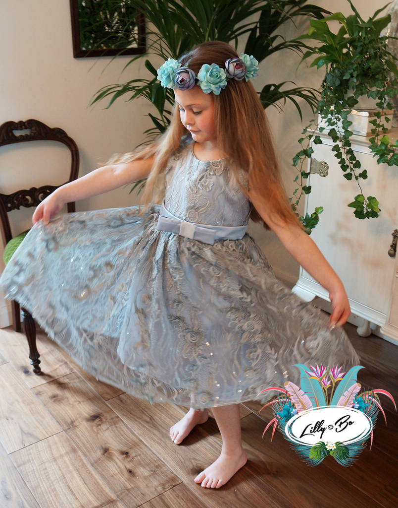 Isabelle ~ Flower Girl Party Dress