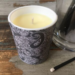 Mono Cotswold Paisley Soya Wax Candles - candles & home fragrance