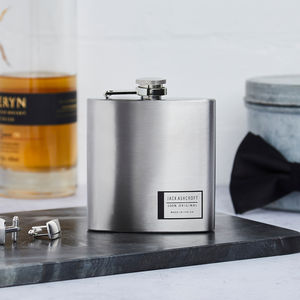 Personalised 100% Original Hip Flask