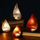 Hanging Teardrop Christmas Candle Holders