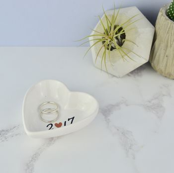 Wedding And Anniversary Ring Dish