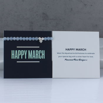 Happy March Bracelet