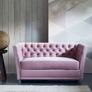 New: Disraeli Chesterfield Loveseat