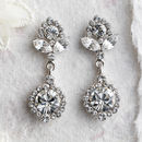 Peggy Crystal Drop Earrings