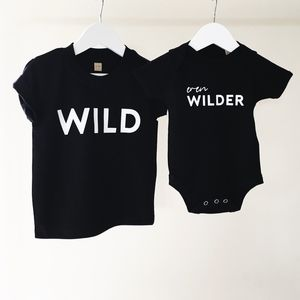 'Wild' Matching Top Set