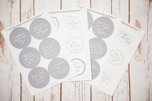 Baby Development Stickers - keepsakes