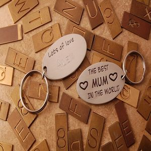 The Best Mum In The World Personalised Keyring