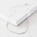 Personalised Silver Morse Code Necklace