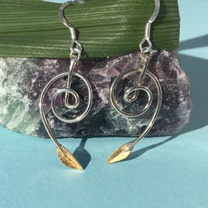 Botanics Spiral Earrings
