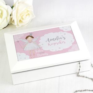 Personalised Jewellery Box: Flower Girl/Birthday Gift - new in home