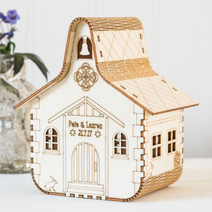 Personalised Wedding Chapel Nightlight - children's room