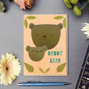 'Daddy Bear' Card - shop by category