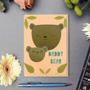 'Daddy Bear' Card