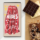 Personalised Letterbox Chocolate For Heroes