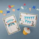 Circus Party Invitation And Thank You Notecards