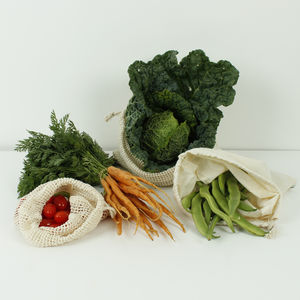 Reusable Organic Cotton Produce Bags - storage & organisers