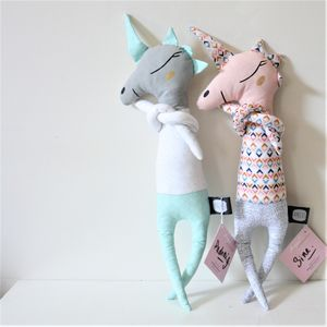 Handmade Unicorn Doudou Doll By Atelier Angus