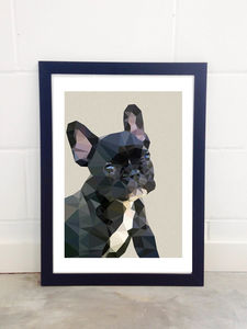 Frenchie By Studio Cockatoo - posters & prints