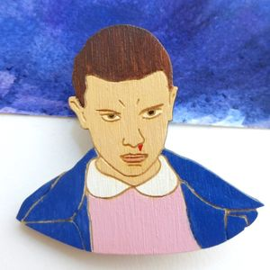 Stranger Things 011 Pin - pins & brooches